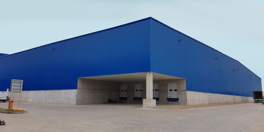 Centro de Distribución Blue Express